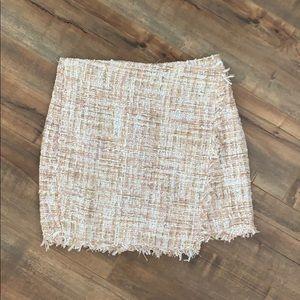 Forever 21 Tweed Mini Skirt